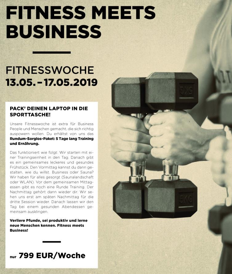 Fitnesswoche in der Körperströmung
